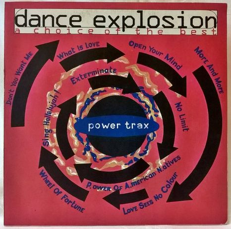 Ace Of Base, 2 Unlimited, Snap, Dr. Alban (Dance Explosion) 1993. Rare