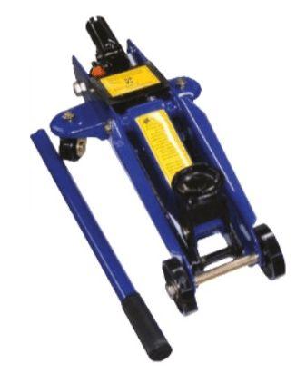 Macaco Hidráulico de rodas p/ oficina capacidade: 2 ton Elev. 335 mm