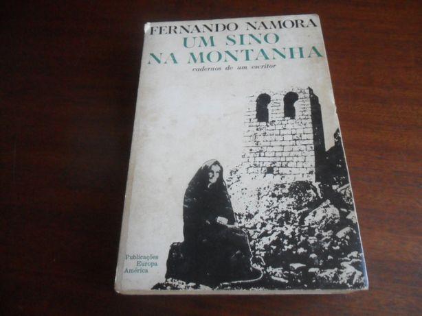 """""""Um Sino na Montanha"""" de Fernando Namora - 1ª Edição de 1968"""