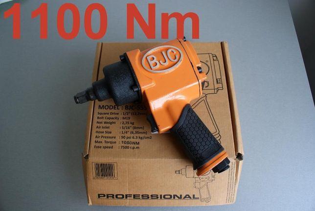 Klucz pneumatyczny udarowy 1/2 1100 Nm+ Naolejacz Duża MOC !
