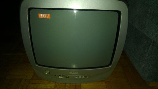 Telewizor Philips 14 cali. Model 14PT1356/58 srebrny. Sharp, Sony