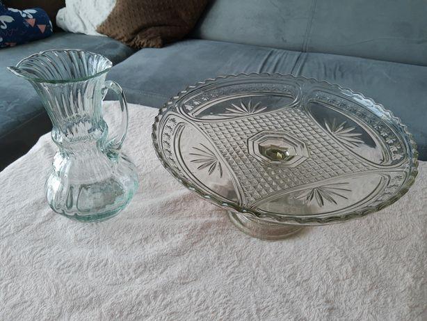 Patera i dzbanek z kryształu, kryształ