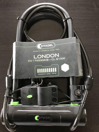 Zapiecie rowerowe uchwyt solidne London 170/230/K/B