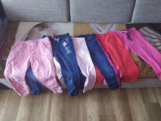 Spodnie 116/122 dla dziewczynki wysyłka nr 8