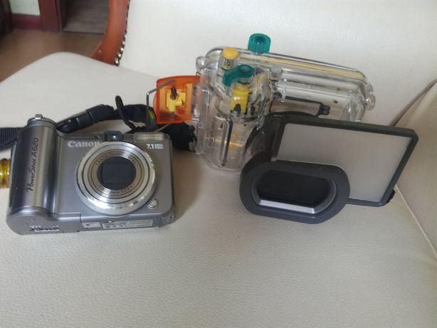 Canon PowerShot A620 z obudową podwodną