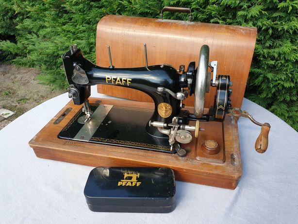 Stara maszyna do szycia Pfaff nie Singer z akcesoriami