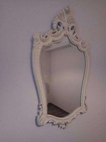 Espelho de parede antigo pintado à mão