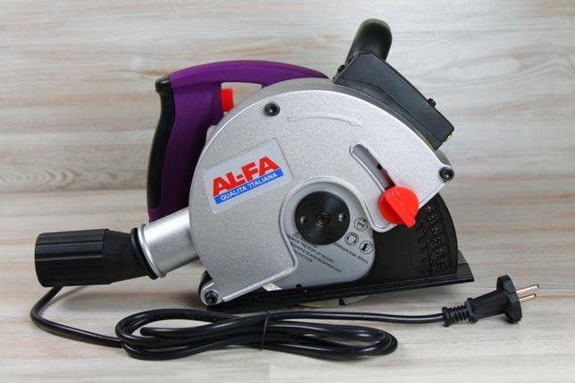 Штроборез AL-FA 150-ALBR31 : 3100Вт, 150мм : 4 диска в комплекте