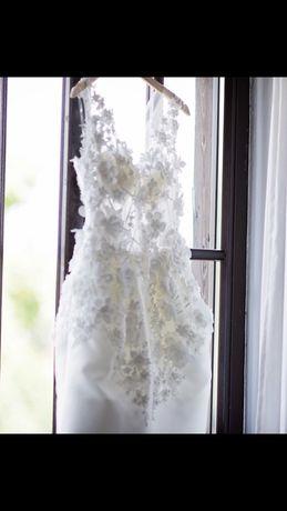 Suknia ślubna ,koktajlowa Madonna rozm.38