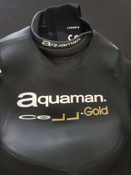 Fato em neoprene Aquaman Cell Gold 40 giga senhora
