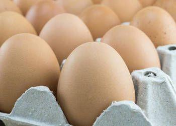 Świeże jajka z wolnego wybiegu.