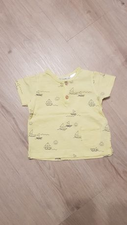 Koszulka na krótki rękaw Zara r. 74
