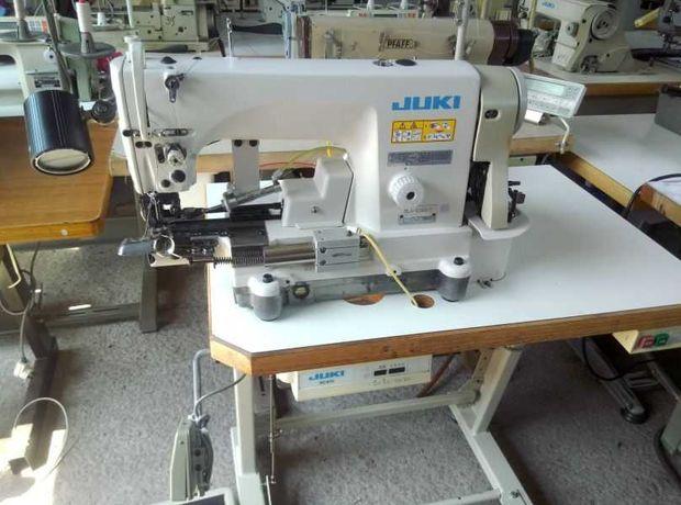 Stębnówka JUKI DLN 6390-7 do podwijania dołów spodni Pfaff Durkopp