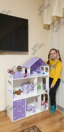 Кукольный домик ЛОЛ Барби монстер хай