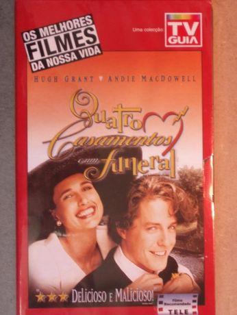 Filme VHS, Quatro Casamentos e Um Funeral - a estrear