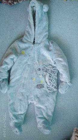 Kombinezon zimowy niemowlęcy r62