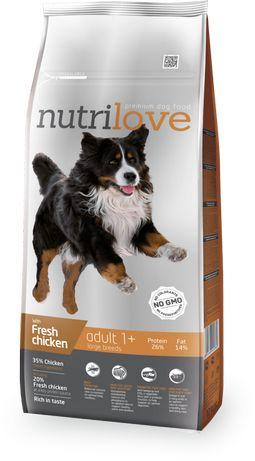 Nutrilove Dog 11479 Adult L 3Kg Kurczak