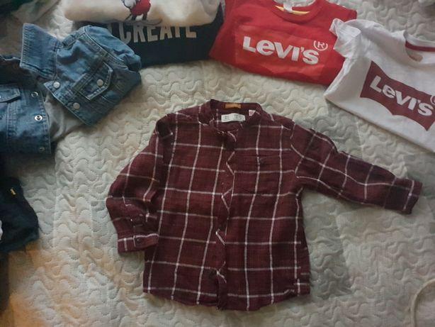 Flanelowa koszula Zara 98