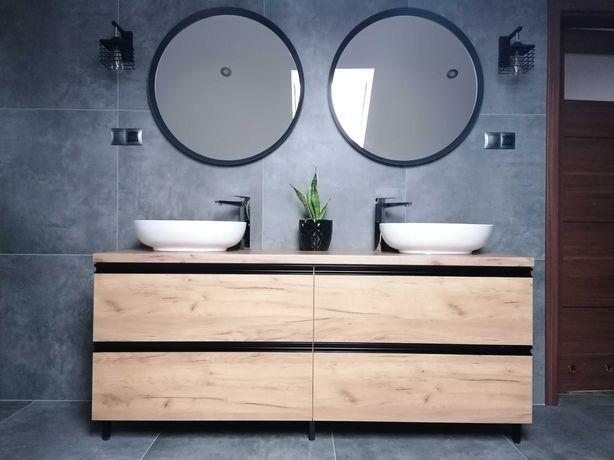 szafka pod umywalkę na wymiar - meble łazienkowe na wymiar - PRODUCENT