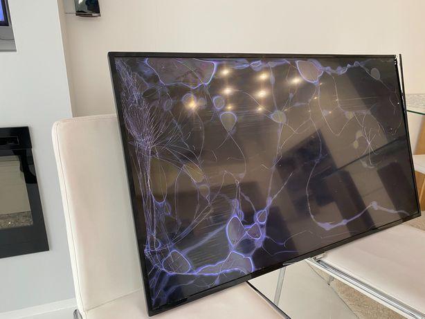 Telewizor philips 48 cali uszkodzony