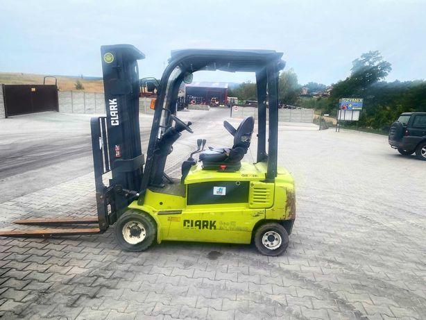 wózek widłowy elektryczny CLARK GEX20 Triplex 4.80m 2012' toyota linde