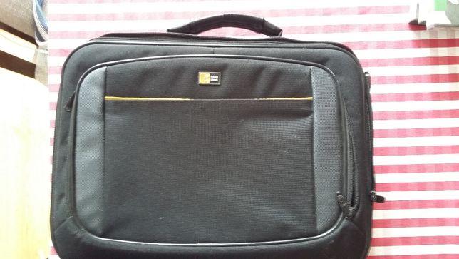 Case Logic torba naramienna na laptopa. Gruba, bardzo pojemna!
