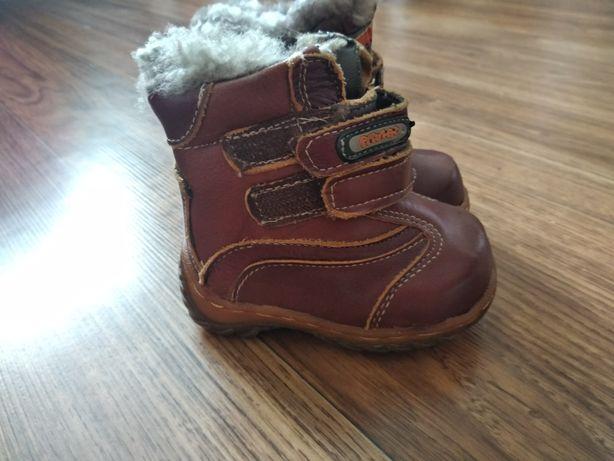 Дитячі ботинки зима