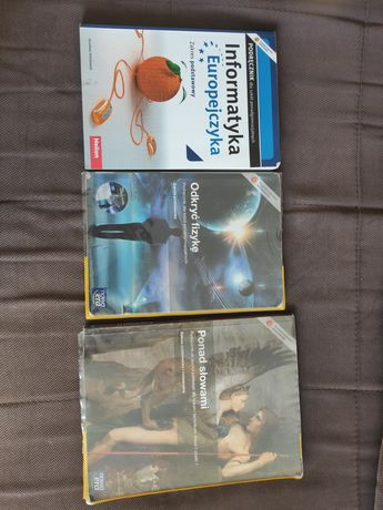 Podręczniki do klasy 1