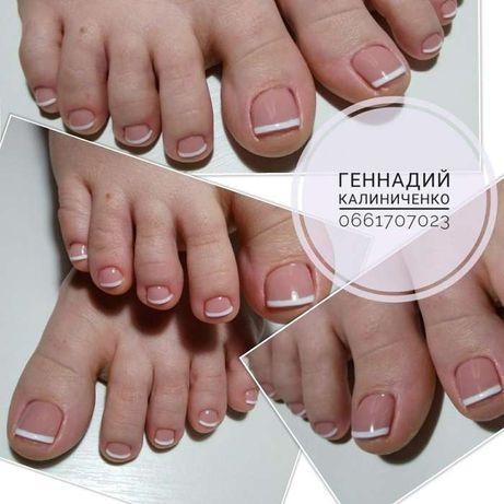 аппаратный педикюр, исправление вросших ногтей без боли