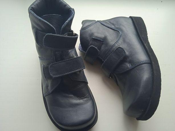 Новые Ортопедические ботинки 19.8 см для мальчика, девочки,натур.кожа