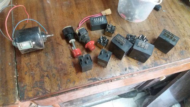 Комплект реле, реостат, переключатель оборотов вентилятора на ВАЗ-2109