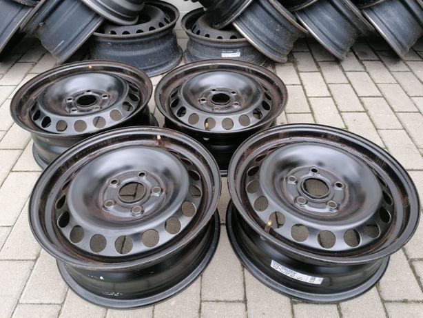 "Felgi stalowe VW, Audi, Seat, Skoda, 5x112, 15"""