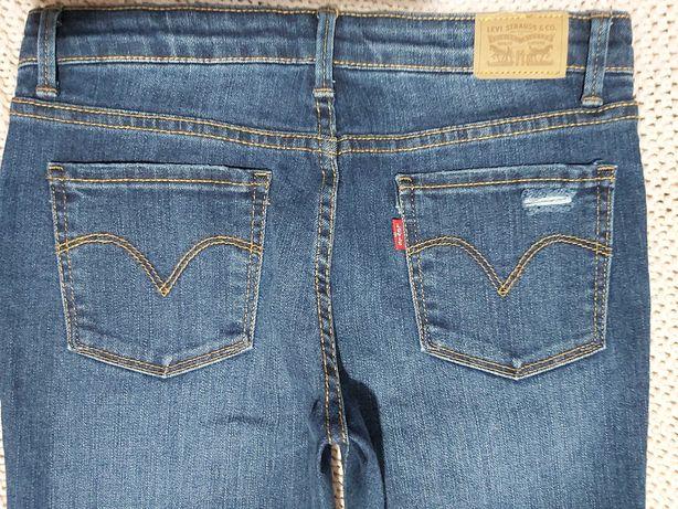 Spodnie dziewczece Levis 710 Super Skinny