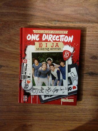 1D One Direction sekretny notatnik oficjalny produkt