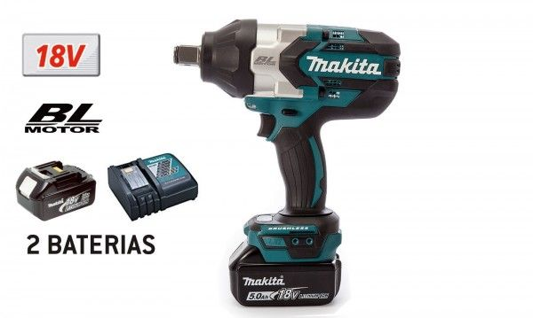 Chave de impacto a Bateria Makita DTW1001RTJ