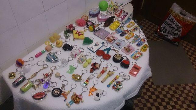 para crianças (138 porta-chaves) bonecos, animais, jogos e diversos