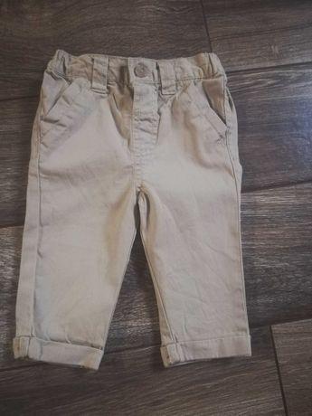 Spodnie niemowlęce 68