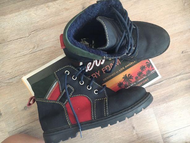 Демисезонные ботинки сапоги 34 р 21 см