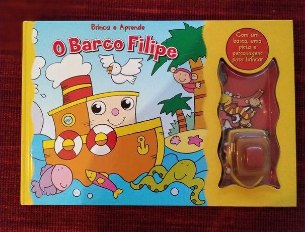 5 livros infantis interativos de folhas duras
