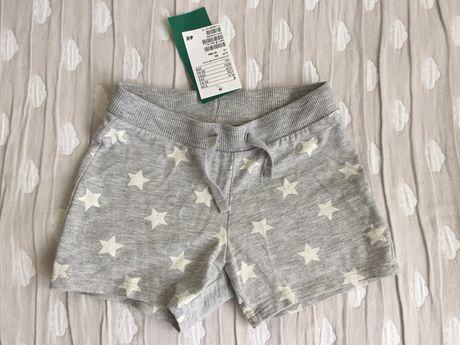 Новые шорты hm 12-18 ме