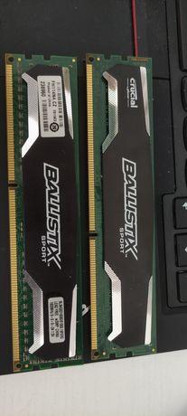 Pamiec DDR3 Ballistix Sport 8GB 1600mhz