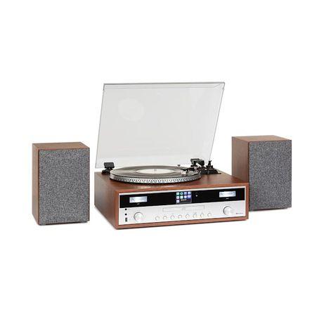 Birmingham, zestaw stereo H-Fi, DAB+FM, Bluetooth, odtwarzanie płyt wi