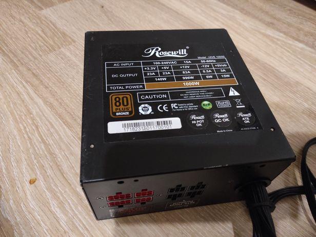 Блок живлення Rosewill 1000ват 83ампери