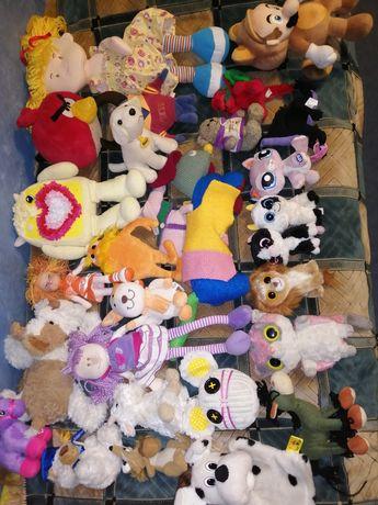 Мягкие игрушки. Дракон, глазастики, энгрибедс, собачки.