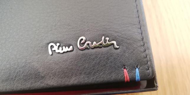 ORYGINALNY PORTFEL męski Pierre Cardin skóra naturalna 100%