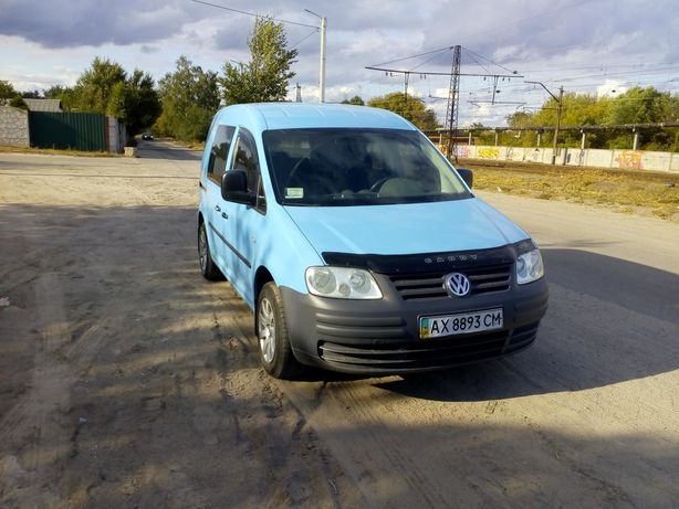 Продам свой Vw caddy. 2004г 1.4л 16кл.