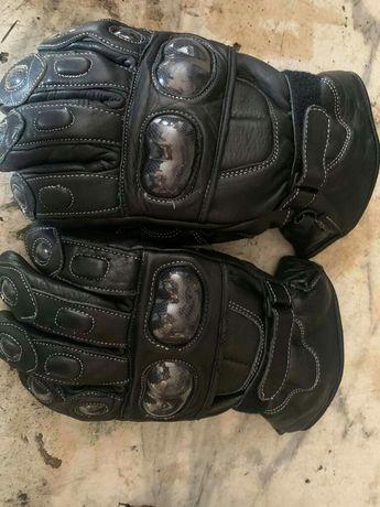 Rękawice motocyklowe zimowe