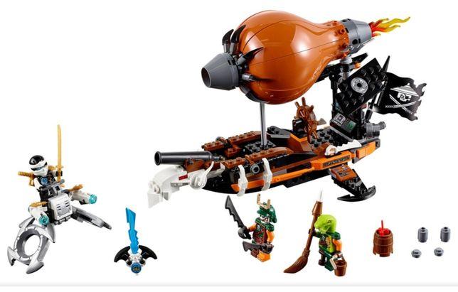 Lego ninjago - piracki sterowiec