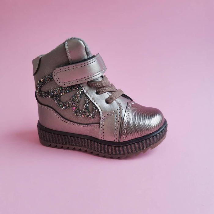 Зимние ботинки сапоги на овчины 16 см зимові черевики чоботи Киев - изображение 1