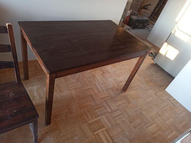 Stół ikea + 3 krzesła